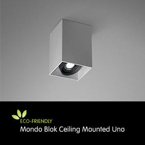 LED Downlight, Mondo Blok Ceiling Mounted Uno, LED Downlights, LED Ceiling Light Fixtures