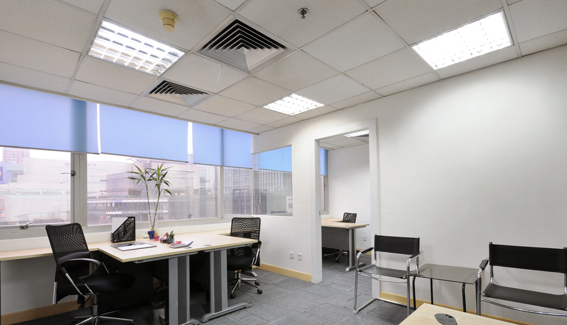 office lighting plan